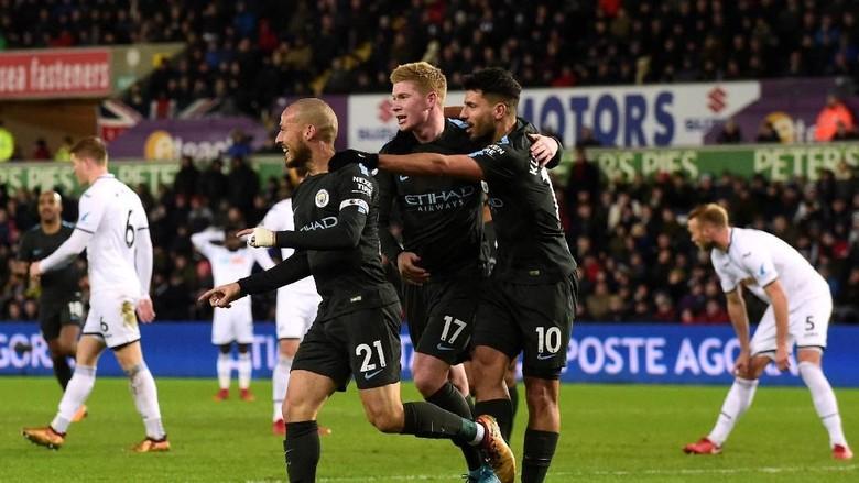 City Libas Swansea 4-0