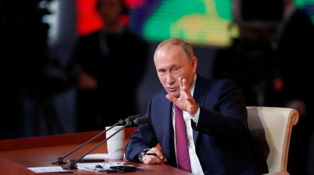 Vladimir Putin Perintahkan Agar Pelaku Teror Ditembak Mati di Tempat