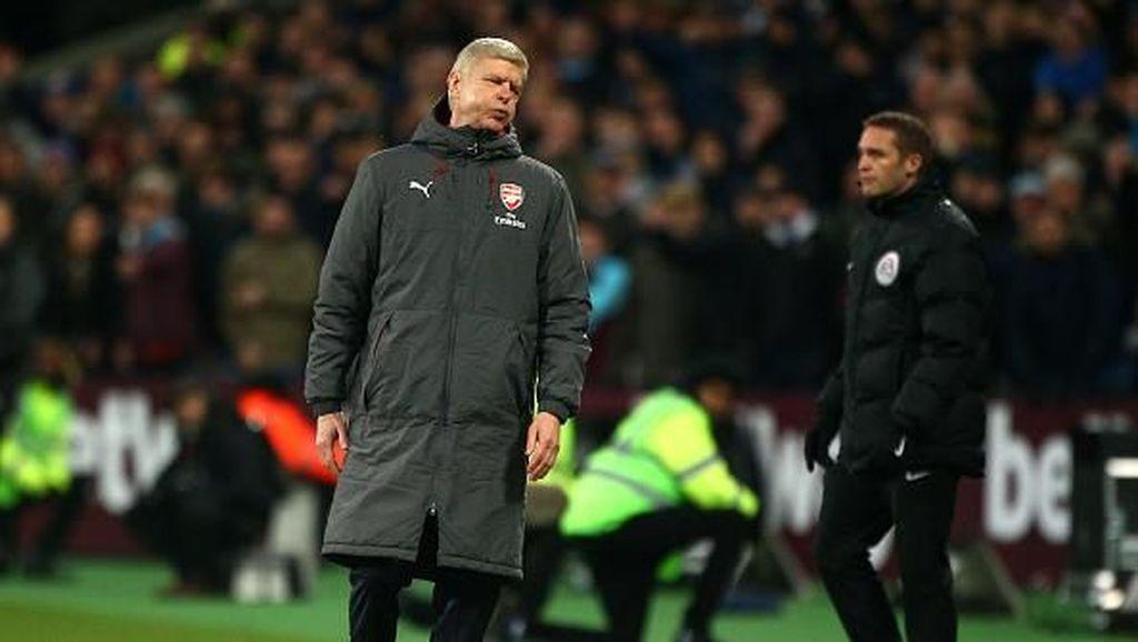 Diimbangi West Ham, Wenger Bawa-bawa Kekalahan Chelsea