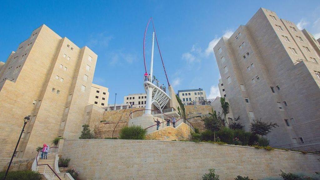 FOTO: Megahnya Rawabi, Metropolitan Pertama di Palestina