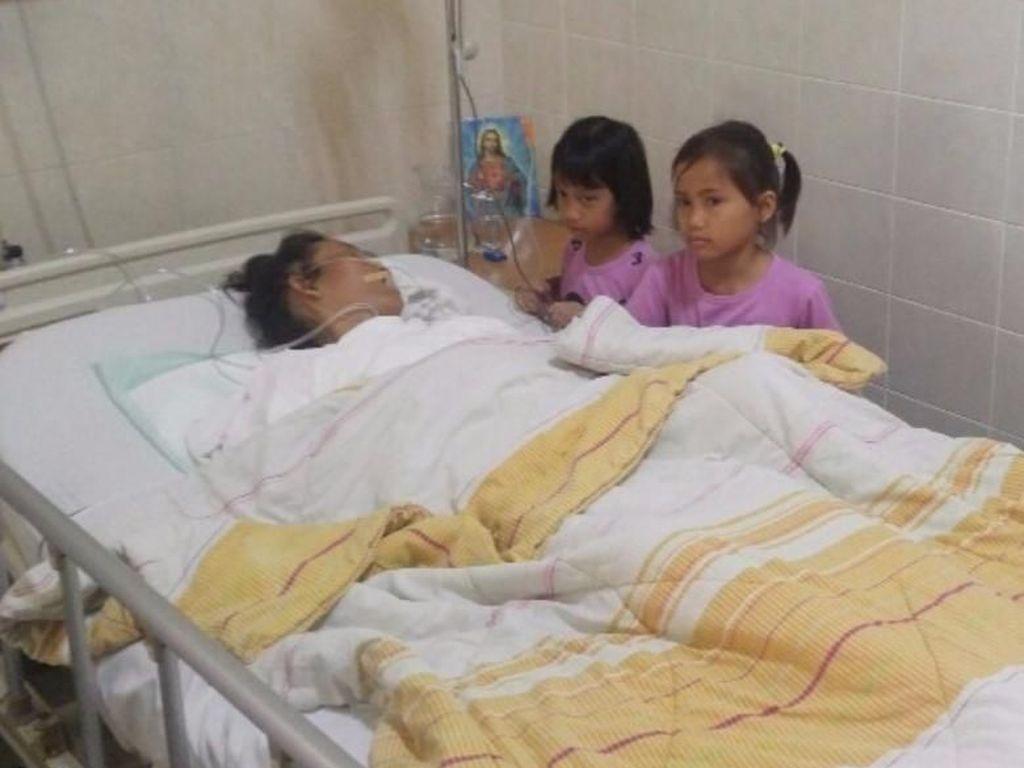 4 Anak Menanti Keajaiban Ibu Sembuh dari Kanker Payudara Stadium 4