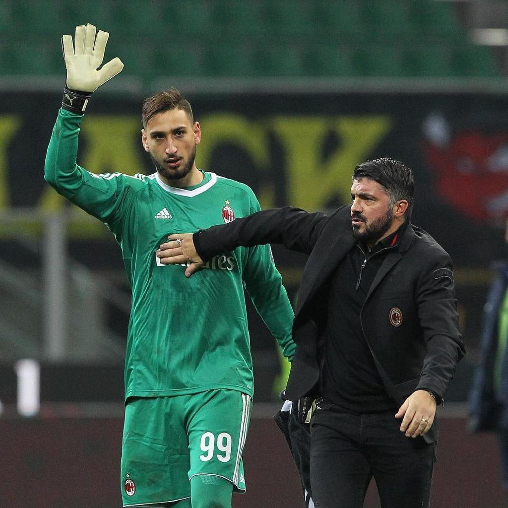 Tangisan Donnarumma dalam Kemenangan Milan