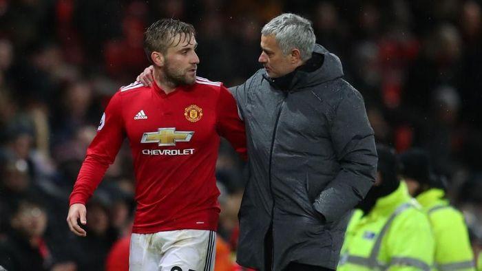 Luke Shaw tak mungkin lagi berada di Manchester United musim depan (Catherine Ivill/Getty Images)