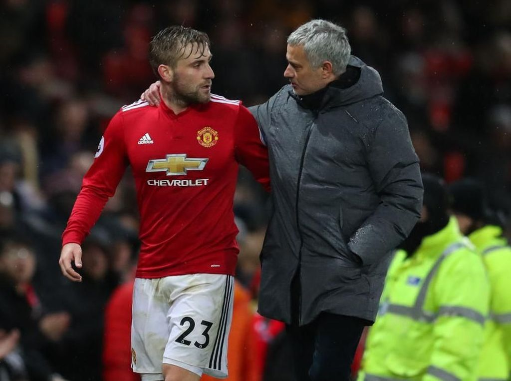 Luke Shaw Cerita Masa Sulitnya Dilatih Jose Mourinho