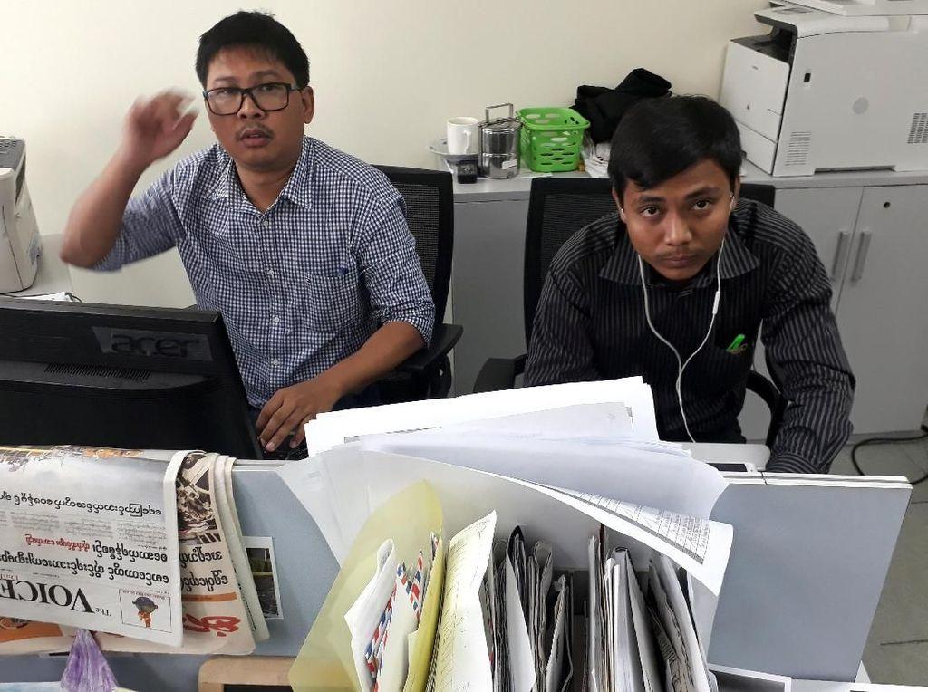 AJI: Vonis 7 Tahun Penjara Jurnalis Reuters Kemunduran Myanmar