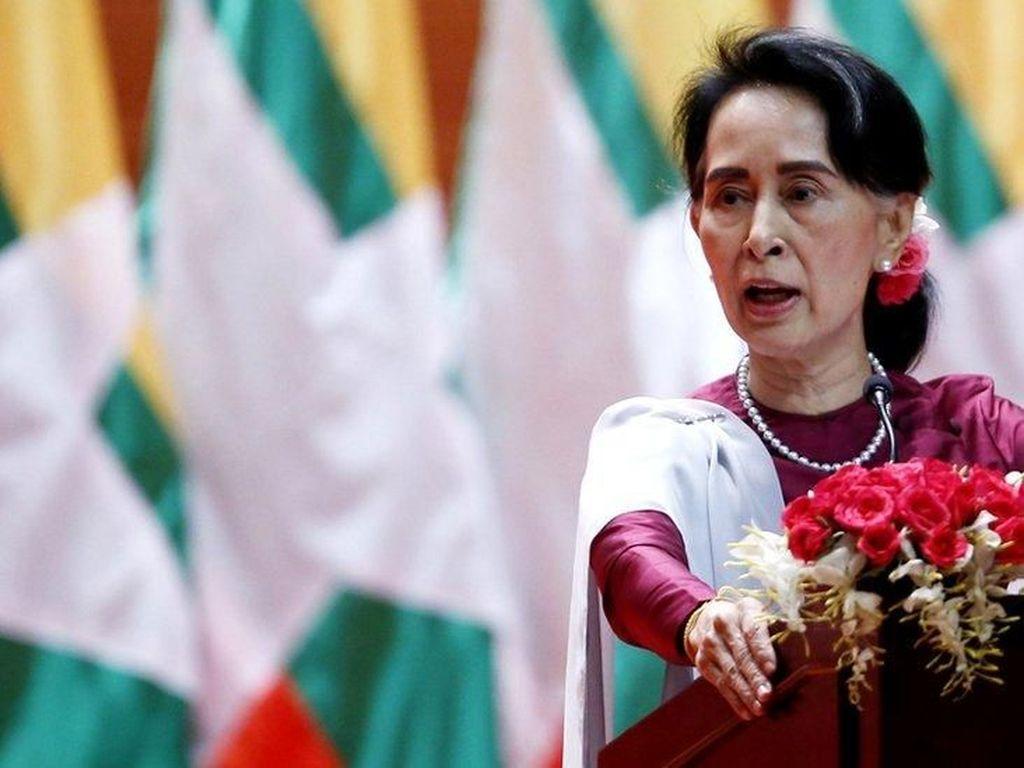 Komunikasi via Video, Pengacara Sebut Aung San Suu Kyi dalam Keadaan Sehat