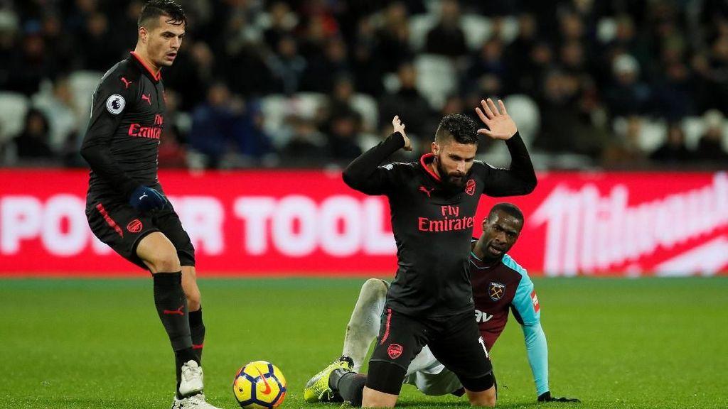 Melorot ke Peringkat Ketujuh, Arsenal Jadi Sasaran Ejekan