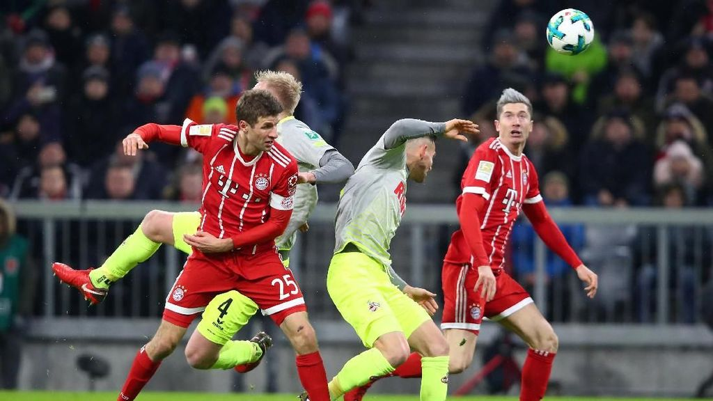 Bayern Susah Payah Kalahkan Cologne