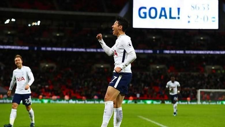 Spurs Kalahkan Brighton 2-0