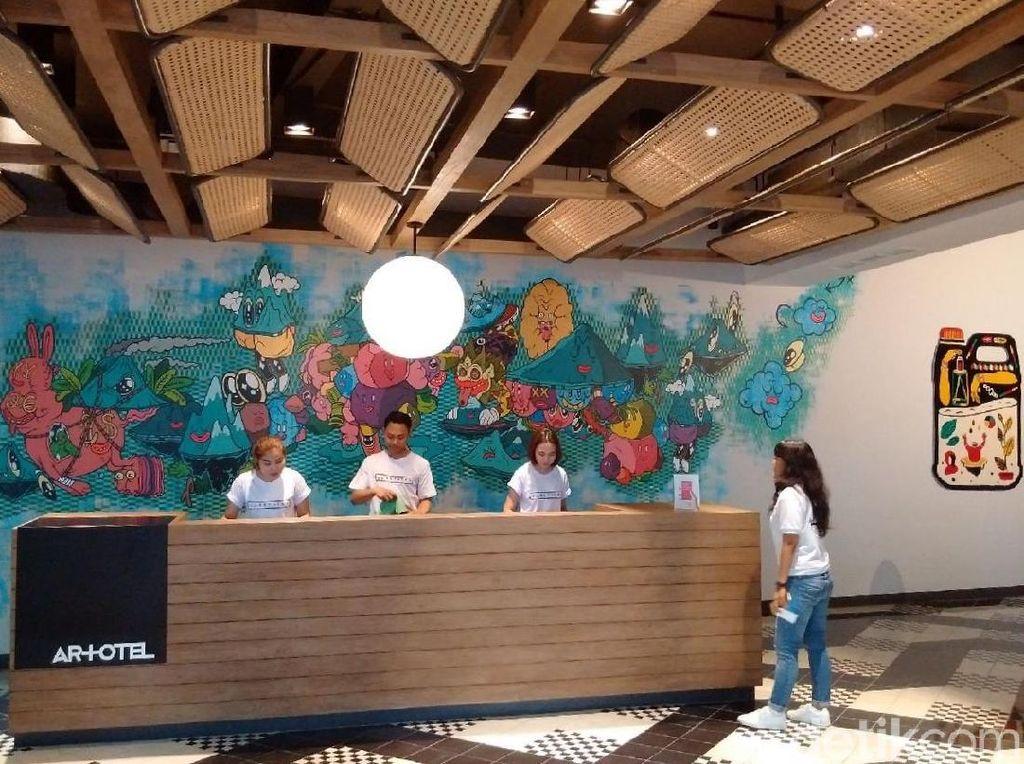 Hotel Nyeni Hasil Kolaborasi 6 Seniman Hadir di Yogya