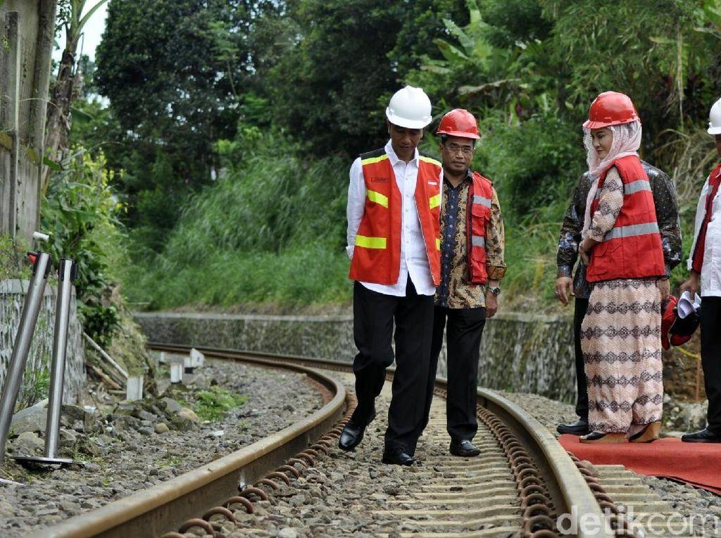Bogor ke Sukabumi 6 Jam, Jokowi: Saya Enggak Kuat Apalagi Warga