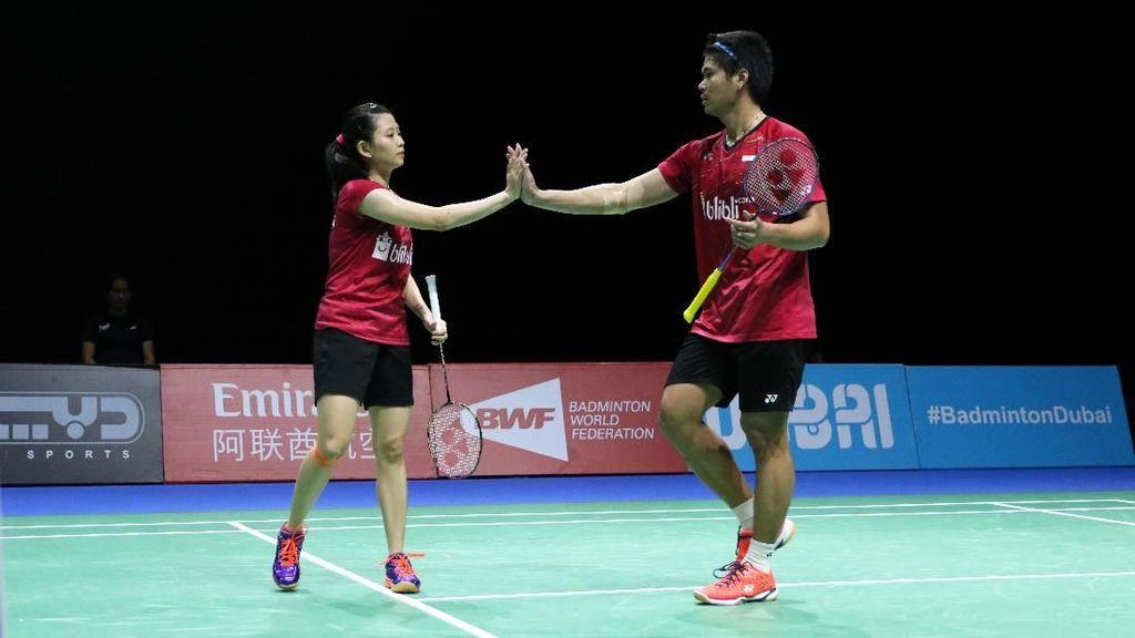 Praveen/Debby Lolos Perempatfinal, Hendra/Ahsan Tersingkir