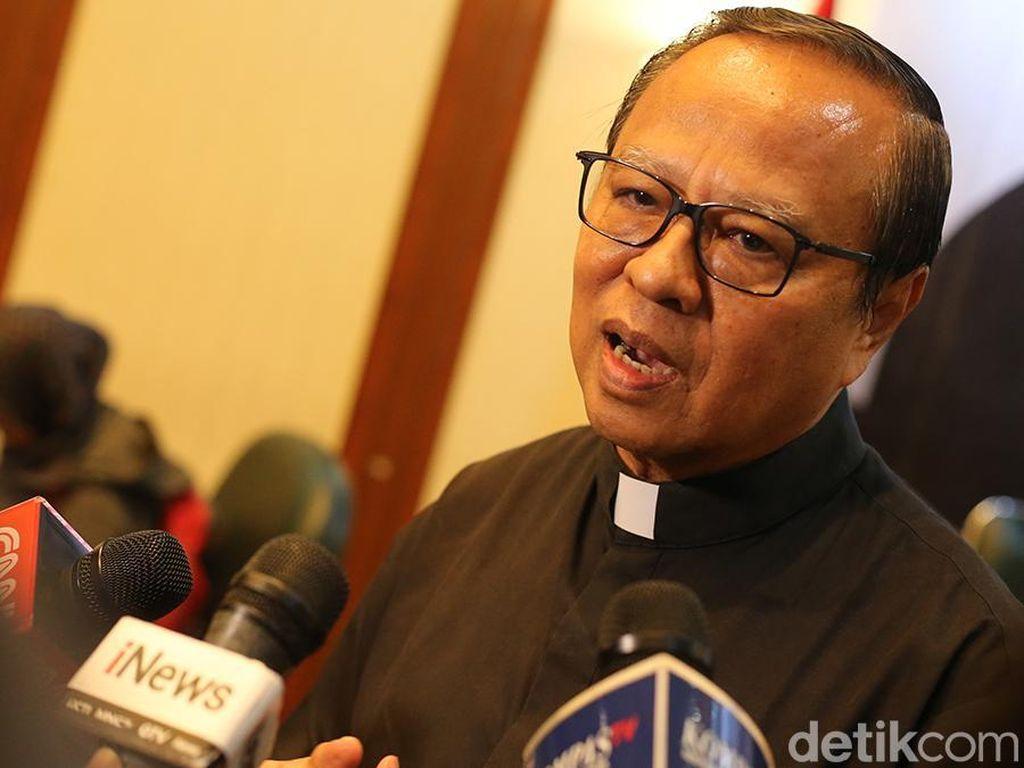 Paus Fransiskus Tunjuk Mgr Ignatius Suharyo Jadi Kardinal