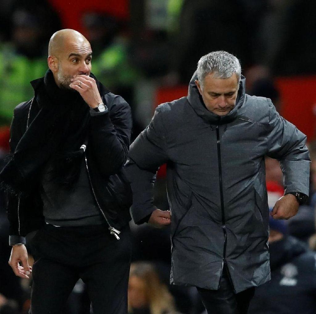 Puji Permainan Spurs dan Chelsea, Guardiola Sindir Mourinho?
