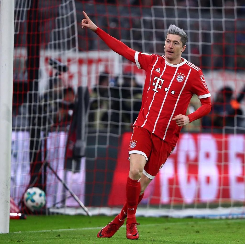 Hanya Fokus ke Bayern, Lewandowski Tak Tergoda Gabung Madrid
