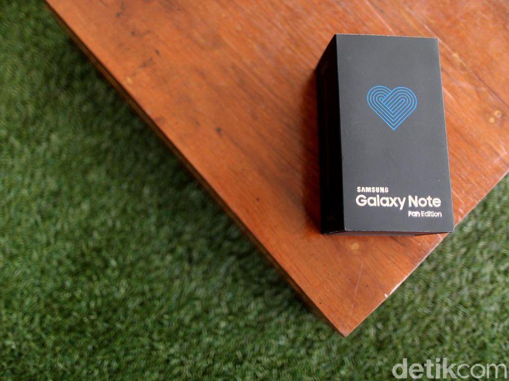 Unboxing Note FE, Reinkarnasi Note 7 yang Sudah Aman