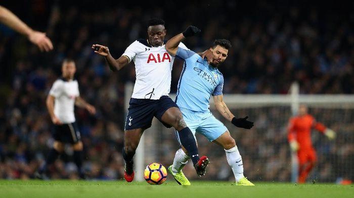 Manchester City superior di hadapan Tottenham Hotspur. (Foto: Clive Mason/Getty Images)