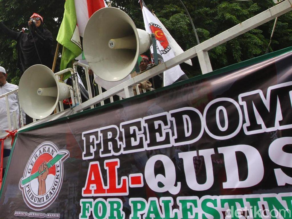 Aksi Bela Palestina, Begini Pengamanan Kepolisian