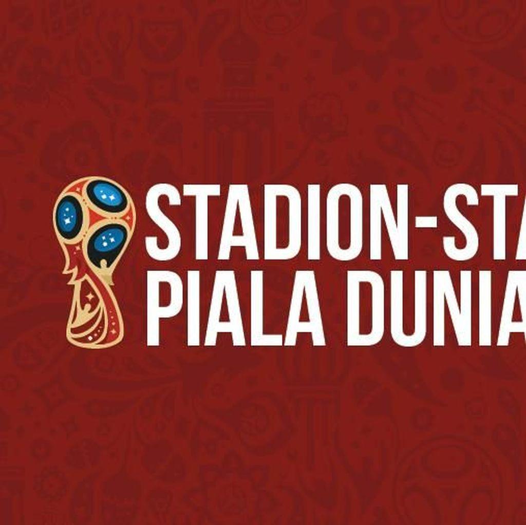 Piala Dunia 2018: 11 Kota, 12 Stadion