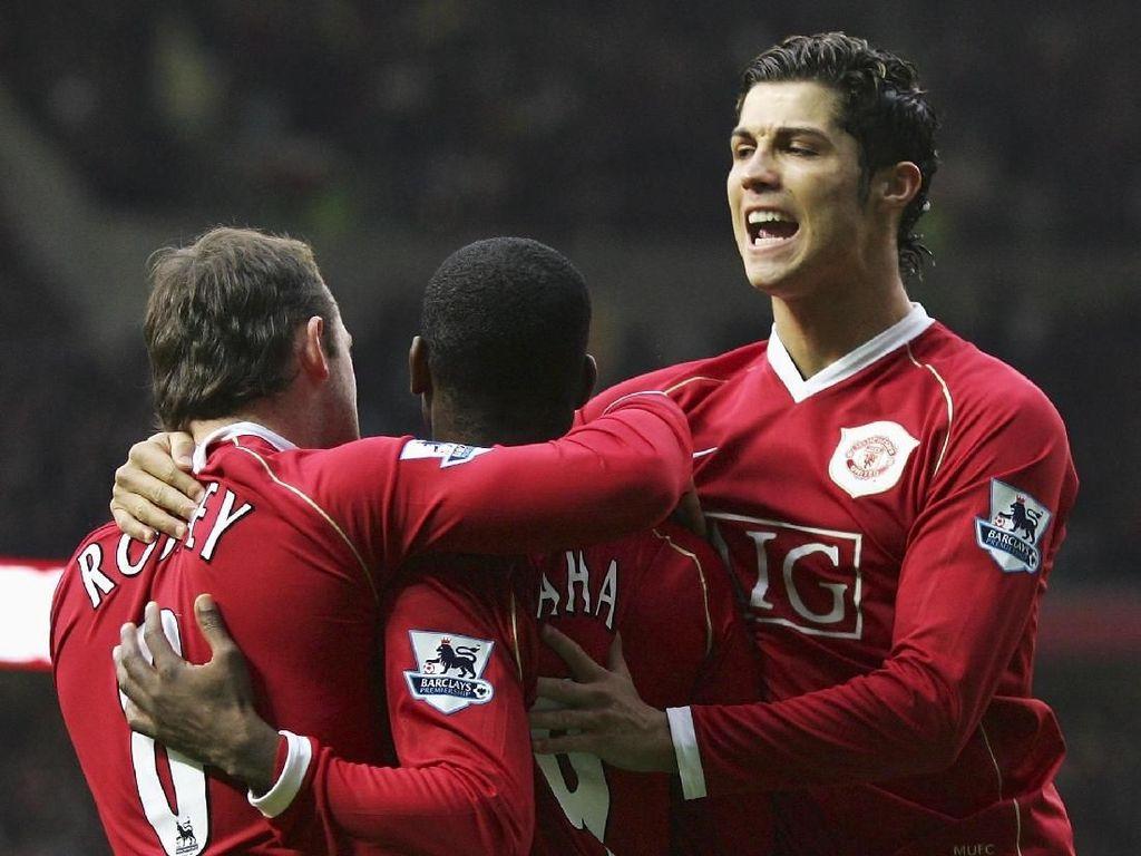 Cristiano Ronaldo Pemain Terbaik MU di Premier League
