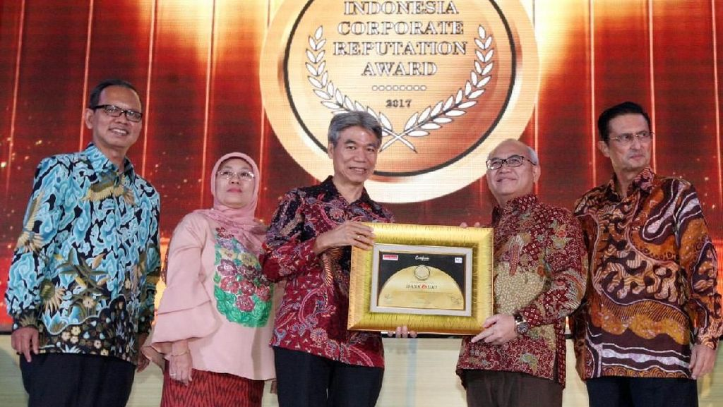 Indonesia Best Corporate Reputation Award 2017