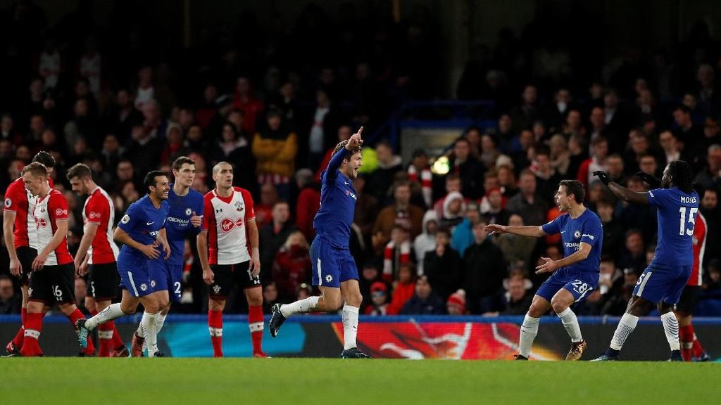 Chelsea Menang Tipis 1-0 atas Southampton