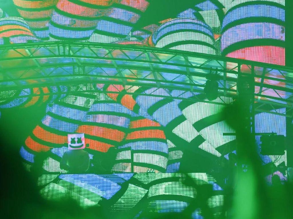 Petjah! Marshmello Guncang DWP 2017 dengan Remix Eta Terangkanlah