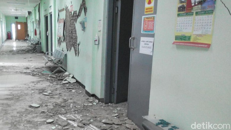 Pelayanan di RSUD Banyumas Tidak Optimal Akibat Gempa