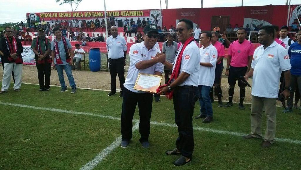 Turnamen di Perbatasan untuk Membangun Sepakbola Usia Dini