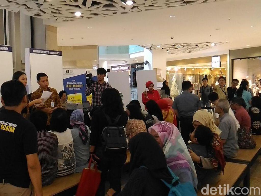 Imigrasi Jaksel Buka Layanan Perpanjang Paspor di Mal Gancit