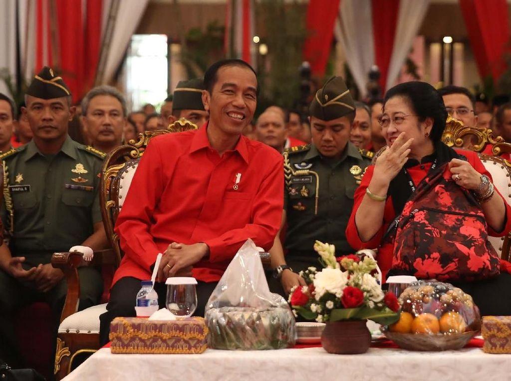 PDIP: Setelah Mega, Jokowi Roadshow Bahas 1 Nama Cawapres