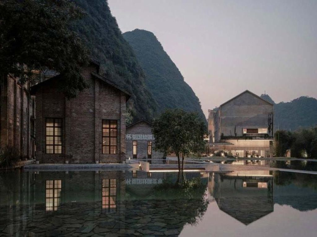 Pabrik Gula 'Disulap' Jadi Hotel Mewah