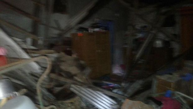 Kerugian jawaban gempa ditaksir ratusan juta rupiah.