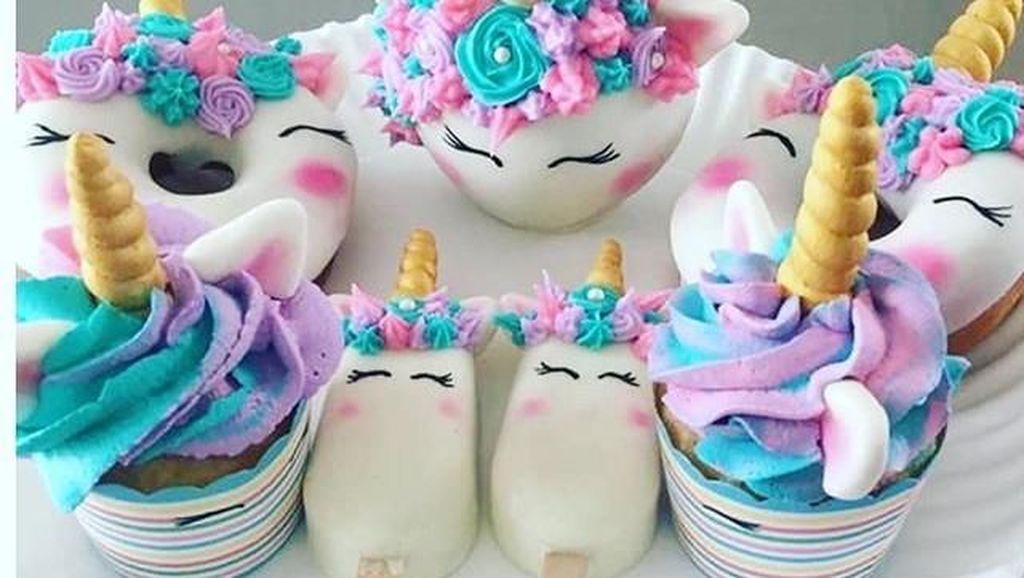 Unicorn Menggemaskan? Ini Bikin Kue-kue Jadi Makin Cantik?