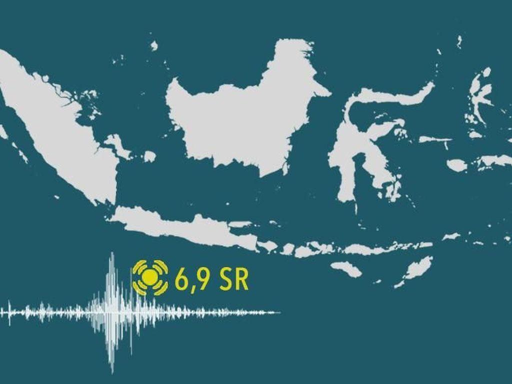 504 Bangunan di Cilacap Rusak Akibat Gempa 6,9 SR