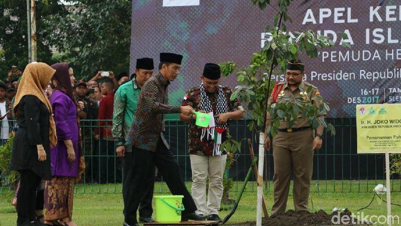 Jokowi Apresiasi Kemandirian Warga Respon Gempa Tasikmalaya