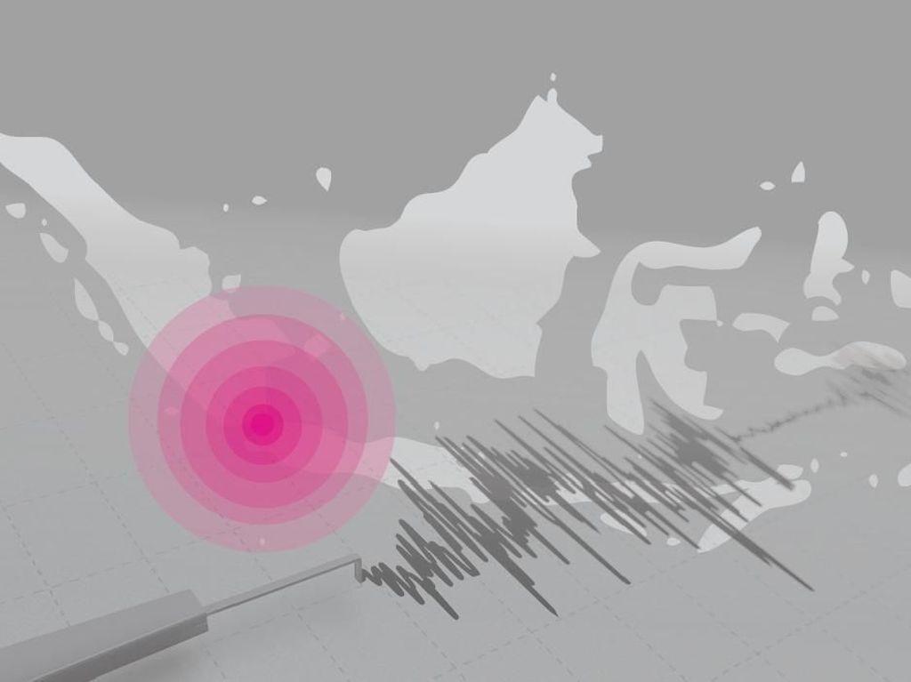 Gempa 5,3 SR Guncang Kepulauan Sangihe