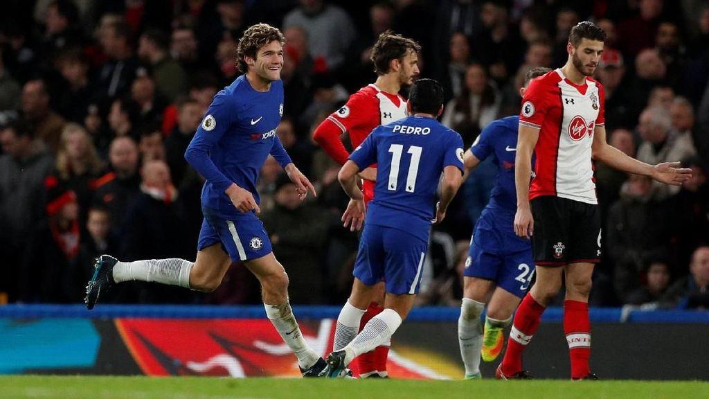 Babak I Selesai, Chelsea Sementara Unggul 1-0 atas Southampton