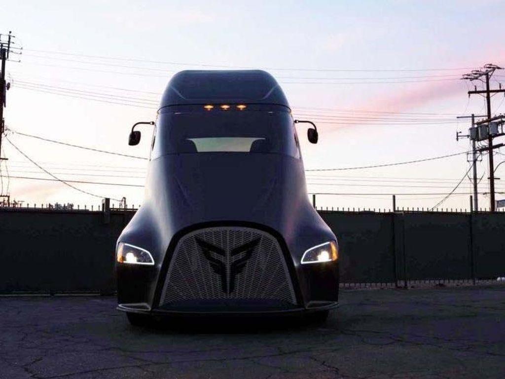 Ini dia Truk Listrik Saingan Tesla