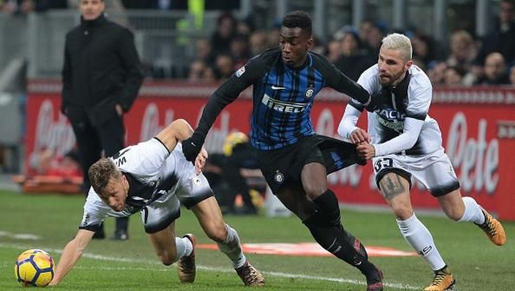 Udinese Beri Kekalahan Pertama untuk Inter Milan