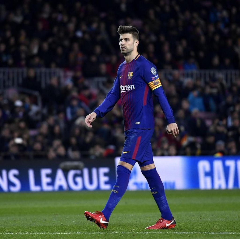 Pique Ingin Barca Jumpa City di Final Liga Champions