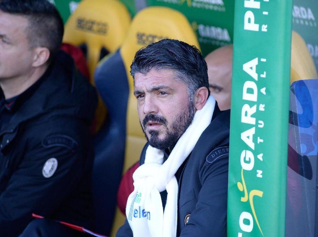 Milan Dihajar Verona, Gattuso: Ini Memalukan