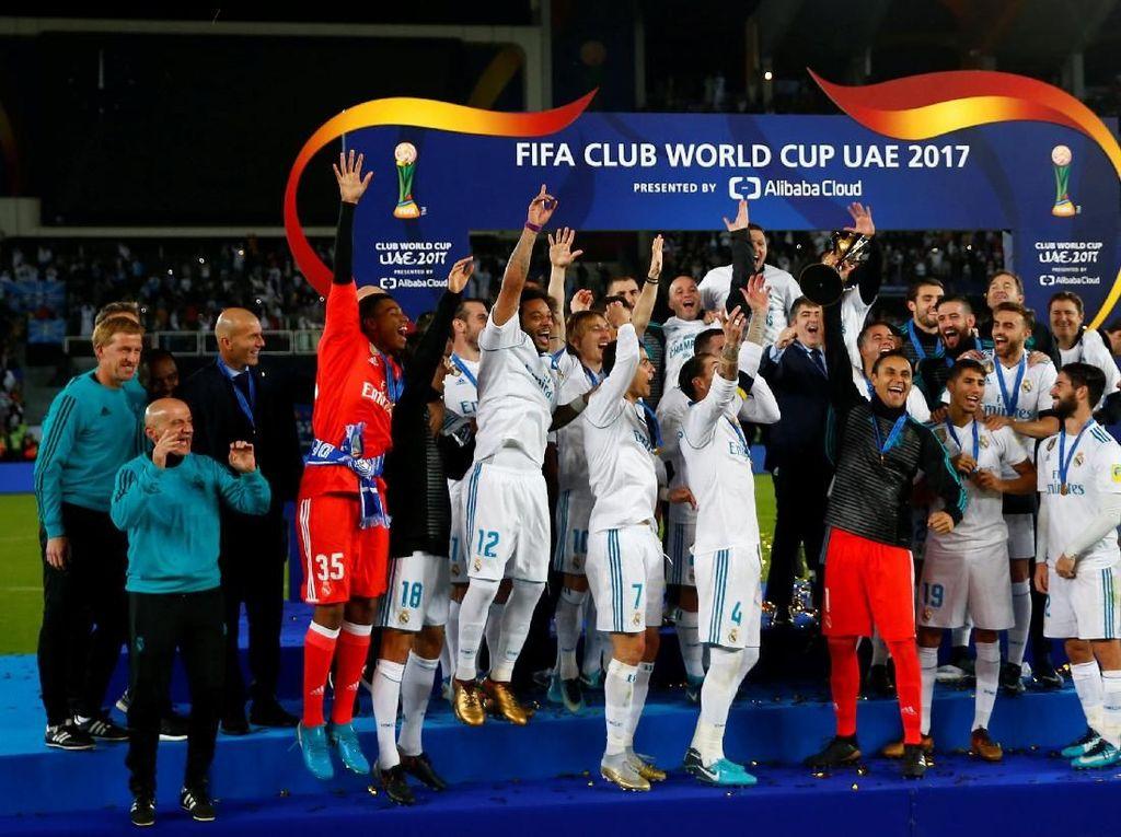 Cerita Bek Madrid Menolak Dikalungi Medali oleh Presiden FIFA