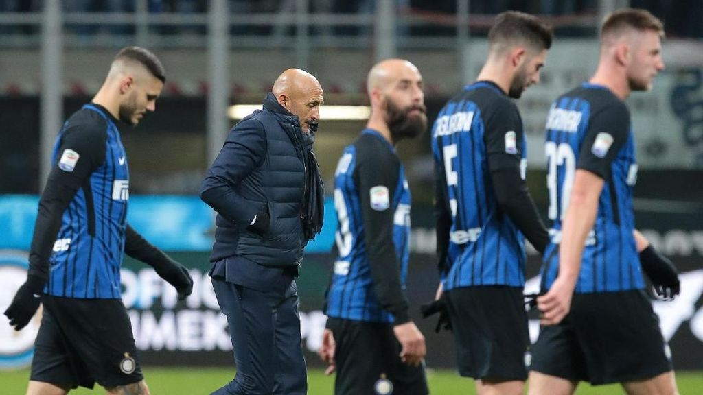 Inter Kalah karena Main Jelek di Babak Kedua