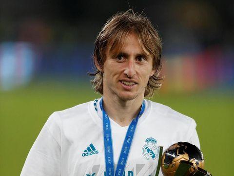 Luka Modric jadi salah satu pemain Kroasia paling sukses