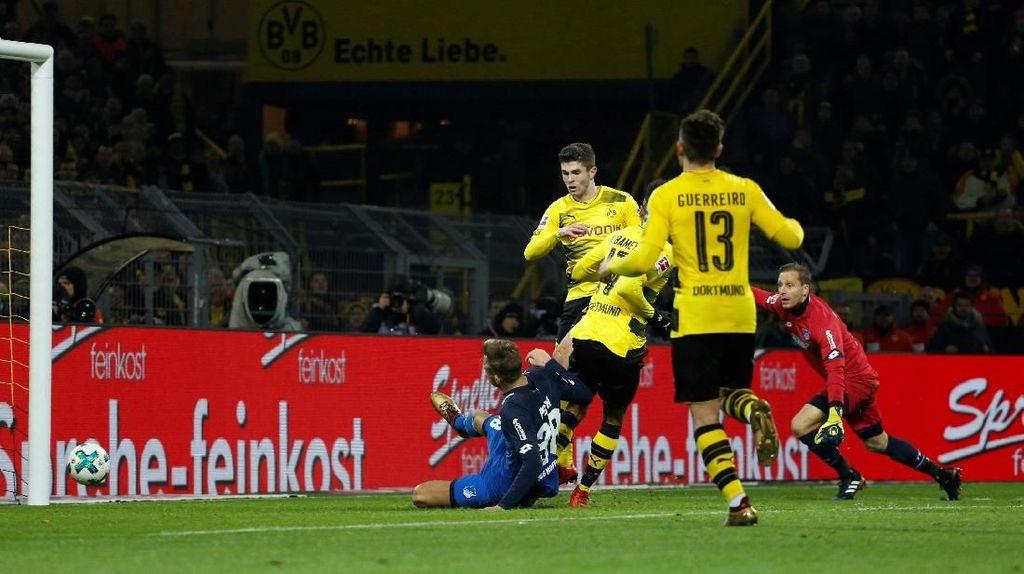 Comeback, Dortmund Tundukkan Hoffenheim