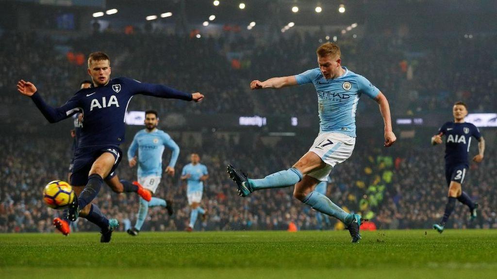 De Bruyne Dapat Tekel Horor, Langsung Merespons dengan Gol