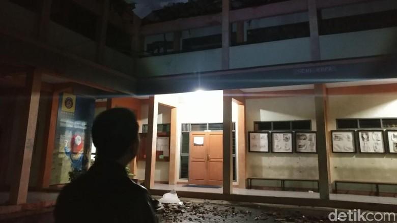 Smkn 3 Tasikmalaya Rusak Akhir Diguncang Gempa