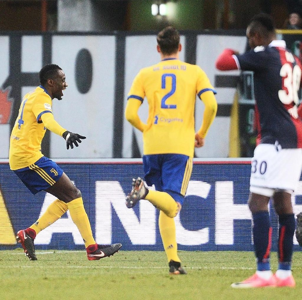 Juve Salip Inter Usai Kalahkan Bologna 3-0