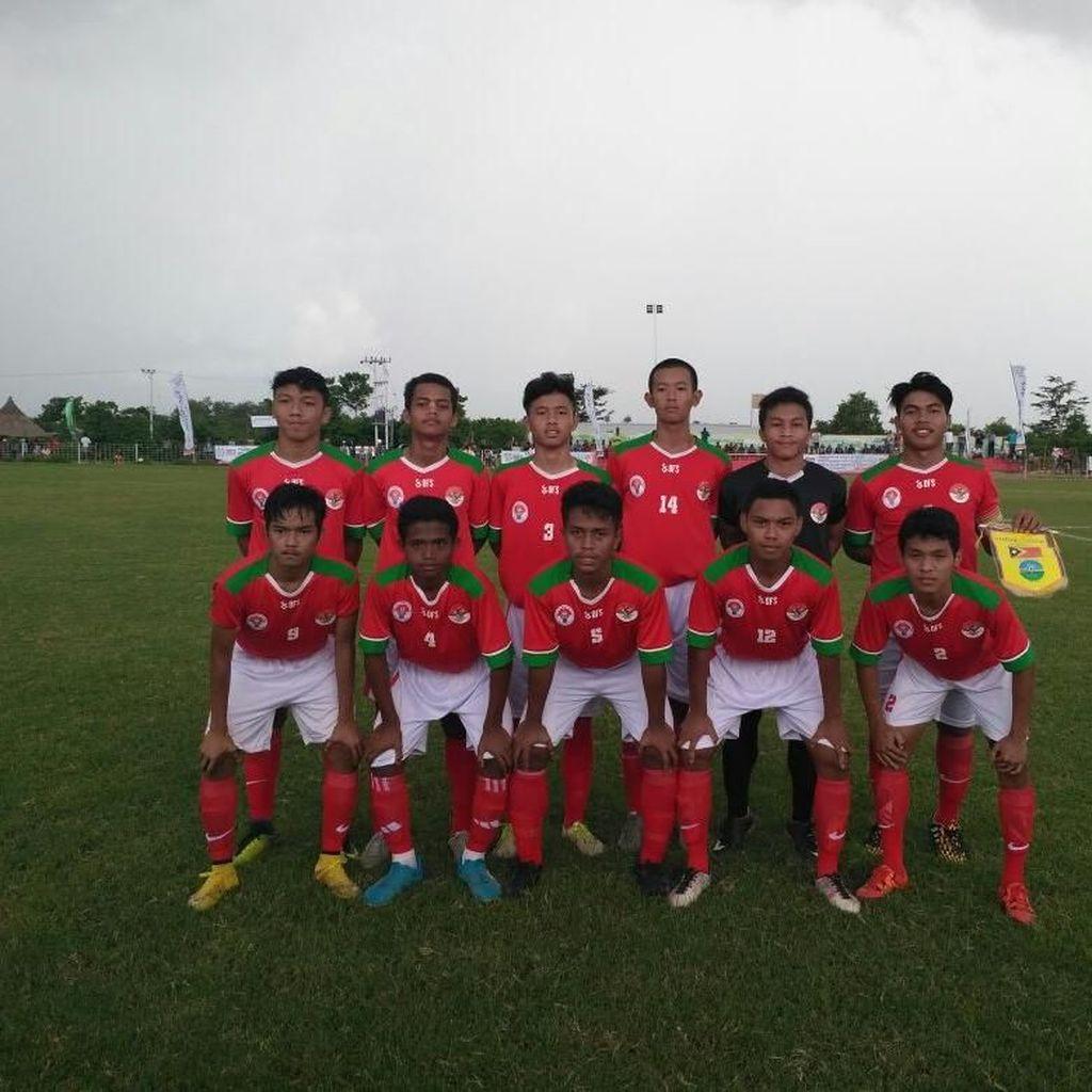 Ini Hasil Tim Pelajar Indonesia U-16 di Turnamen Perbatasan